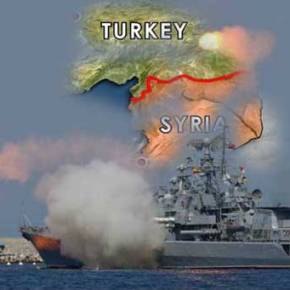 Πύραυλοι cruise που εξαπέλυσαν ρωσικά πλοία της Μεσογείου πέρασαν πάνω από τα… κεφάλια των Τούρκων και εξαϋλωσαν τζιχαντιστές στα σύνορα της Συρίας(vid)