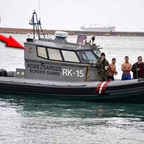 Ρεζίλι γίναμε… Με σκάφος της Frontex τα Θεοφάνεια στη Χίο!(φωτογραφίες)