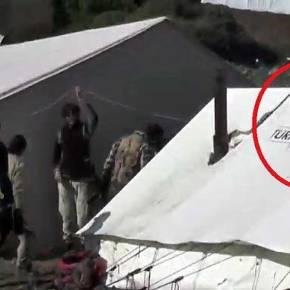 Η Τουρκία με κάλυψη τον Ερυθρό Σταυρό παραδίδει όπλα και πυρομαχικά στους Τουρκομάνους τζιχαντιστες – Βίντεο και φωτόντοκουμέντα