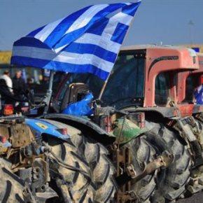 Οι αγρότες κλείνουν τη Μαρκοπούλου αποκλείοντας το ΕλευθέριοςΒενιζέλος