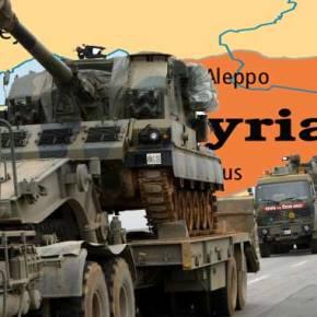 Εισβολή Τούρκων στη Συρία …Για δημιουργία δήθεν «ζώνης ασφαλείας!»(Χάρτης)