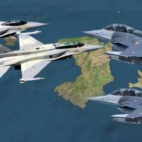 Σκληρή εμπλοκή και σήμερα μεταξύ Τούρκικων και Ελληνικών F-16 Νότια τηςΧίου!