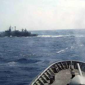 Δεν πέρασε ο τσαμπουκάς των Τούρκων… Αποχώρησε η Κορβέτα TCG Bodrum (F-501) ,'Οταν η Φ/Γ «Σπέτσαι» μπήκε στημέση!