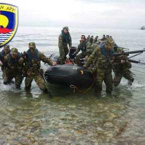 Φωτογραφίες από την επιχειρησιακή εκπαίδευση των Πεζοναυτών της 32ης ΤαξιαρχίαςΠεζοναυτών