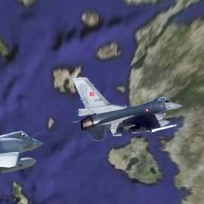 F-16 ΑΠΟ ΤΗΝ ΝΕΑ ΑΓΧΙΑΛΟ ΑΝΑΧΑΙΤΙΣΑΝ ΤΟΥΡΚΙΚΑ CN-23 -Πεδίο μάχης το Αιγαίο σήμερα: Δεκάδες παραβιάσεις και εμπλοκές Mirage 2000 της ΠΑ με τουρκικά F-16 δυτικά των Ψαρών–