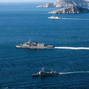 Έτσι ασκείται το Πολεμικό Ναυτικό –ΒΙΝΤΕΟ