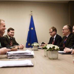 Έκλεισε η συμφωνία ΕΕ-Βρετανίας διαμηνύει ο Τουσκ μέσω Twitter | Κάμερον: «Εξασφάλισα ένα ειδικό καθεστώς εντός της ΕΕ»«Συμφωνία #UKinEU επιτεύχθηκε. Τέλος στο δράμα» έγραψε στο Twitter η πρόεδρος τηςΛιθουανίας