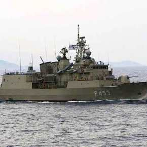 Δεύτερη ημέρα δίπλα παρενοχλεί το ερευνητικό μας σκάφος η τουρκική κορβέτα – Σε απόσταση αναπνοής η φρεγάτα«ΣΠΕΤΣΑΙ»