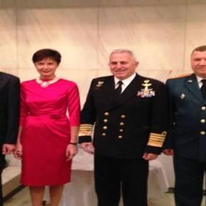 Ο Αρχηγός ΓΕΕΘΑ στον εορτασμό της ημέρας των Ενόπλων Δυνάμεων της ΡωσικήςΟμοσπονδίας