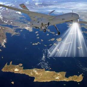 Την πρώτη του αποστολή πραγματοποίησε το τουρκικό UAVΑΝΚΑ