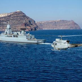 ΝΑΤΟ: Αρχίζει η αποστολή – Φρεγάτα παίρνει εντολή πλεύσης προς Λέσβο – Εκτός συμφωνίας τοΚαστελόριζο