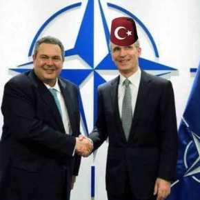 """Το ΝΑΤΟ φτιάχνει χάρτες με """"τουρκικό φέσι"""" για τις περιπολίες στοΑιγαίο!"""