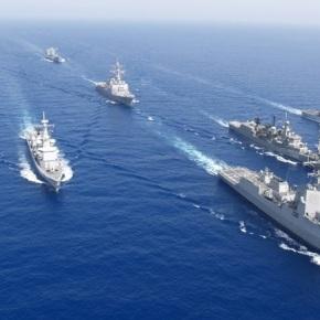 ΝΑΤΟ: Φουλάρουν μηχανές – περιμένουν εντολές τα πλοία που έφθασαν σε Λέσβο –Δωδεκάνησα