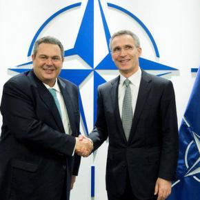 Ο Καμμένος «πανηγυρίζει» που βάζει πόδι το ΝΑΤΟ στοΑιγαίο