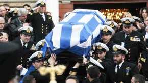 Θρήνος και τιμές στην κηδεία του αδικοχαμένου κυβερνήτη του AgustaBell