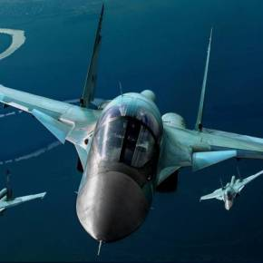 Ρωσικά Su-34 κτύπησαν τουρκική φάλαγγα με οχήματα – Δηλώσεις του Ρώσου ΥΠΑΜ -ΚΤΥΠΗΘΗΚΕ ΤΟΥΡΚΙΚΟ ΤΕΘΩΡΑΚΙΣΜΕΝΟΤΡΟΧΟΦΟΡΟ