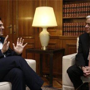Με θέμα το προσφυγικό Ο Τσίπρας ενημέρωσε τον Πρόεδρο της Δημοκρατίας για τα αποτελέσματα της ΣυνόδουΚορυφής