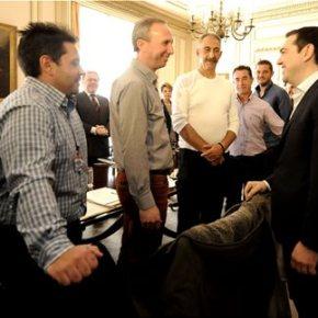 Τσίπρας: Να ανακτήσουμε τον εθνικό πλούτο Συνάντηση του πρωθυπουργού με εκπροσώπους τωναγροτών