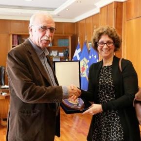 Συνάντηση ΑΝΥΕΘΑ Δημήτρη Βίτσα με Αμερικανίδα Υφυπουργό NancyJackson