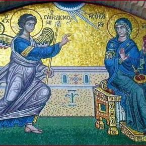 ΕΥΑΓΓΕΛΙΣΜΟΣ ΤΗΣ ΘΕΟΤΟΚΟΥ, 25 MART : MELEĞİN MÜJDESİYORTUSU