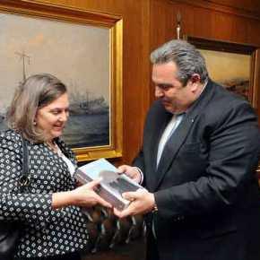 Έτσι δένει το… γλυκό: Η Β.Νούλαντ στην Ειδομένη, το σχέδιο με τους λάθρο και η παρουσία του ΝΑΤΟ στο Αιγαίο κόντρα στηΡωσία