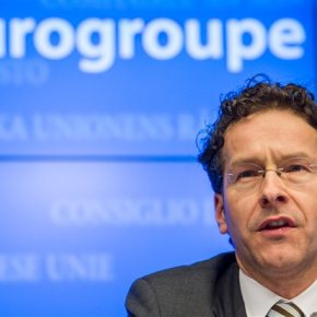 «Σημαντική πρόοδο» στις μέχρι τώρα συνομιλίες μεταξύ των ελληνικών αρχών και των θεσμών διαπιστώνει ο πρόεδρος του Eurogroup, ΓερούνΝτάισελμπλουμ.λ