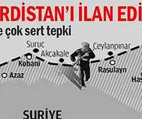 Ανακηρύχθηκε ανεξάρτητο Κουρδιστάν στηΣυρία!