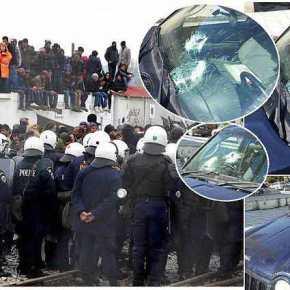 Χάος σε όλη την Ελλάδα από τους λαθρομετανάστες: Επιθέσεις σε Αστυνομικούς στην Ειδομένη – Μαχαιρώματα στην Χίο!ΒΙΝΤΕΟ