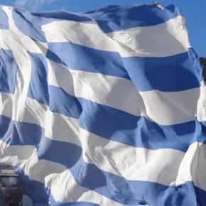 Ένωση Δωδεκανήσων: Γιγαντιαία Ελληνική σημαία απέναντι από την Τουρκία-ΒΙΝΤΕΟ
