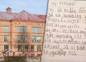 ΣΟΥΗΔΙΑ: Επιστολή μαθητών δημοτικού: «Φοβόμαστε, δεν θέλουμε να ξαναπάμεσχολείο».