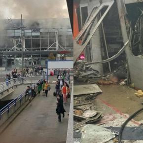 Το ISIS ανέλαβε την ευθύνη για τη «σφαγή» των Βρυξελλών Παγκόσμιο σοκ μετά τις νέες τρομοκρατικές, όπως όλα δείχνουν, επιθέσεις στο αεροδρόμιο των Βρυξελλών, λίγες ημέρες μετά τη σύλληψη του τρομοκράτη τουΠαρισιού.