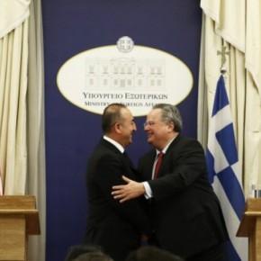 Προκλητικός μέσα στην Αθήνα οΤσαβούσογλου
