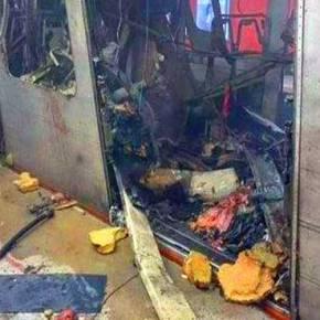 Οι Βρυξέλλες καίγονται από τους ισλαμιστές: 4 νέες εκρήξεις και στο μετρό της πόλης – Δεκαπέντε νεκροί (upd) (φωτό, βίντεο) – Οτι απέμεινε από το σώμα ενός επιβάτη (;) μέσα στο βαγόνι του μετρό στις Βρυξέλλες (σκληρές φωτό)