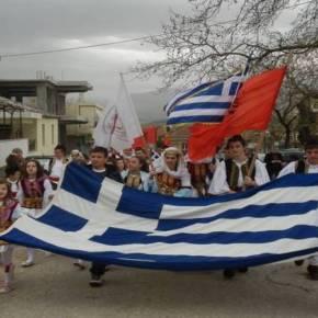 Αλβανία: Με λαμπρότητα γιόρτασαν οι ομογενείς μας την επέτειο της 25ης Μαρτίου–