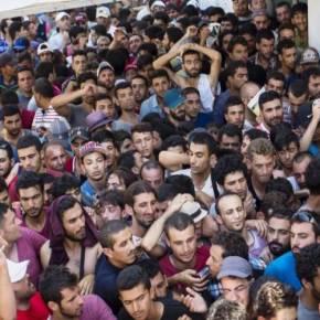 ΕΠΙΣΤΡΑΤΕΥΣΑΝ ΤΗΝ 111ΠΜ ΝΑ ΤΟΥΣ ΚΑΝΕΙ ΦΑΓΗΤΟ! Εξαγριωμένοι αλλοδαποί κατευθύνονται στην Αθήνα – Έστειλαν περιπολικά να τους παρακαλέσουν να γυρίσουν πίσω!–