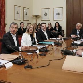 Με μεγάλες διαφωνίες η σύσκεψη των πολιτικώναρχηγών