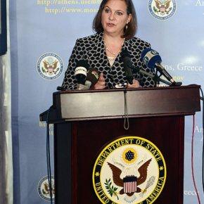 Στην Αθήνα η αμερικανίδα υφυπουργός Εξωτερικών ΒικτόριαΝούλαντ