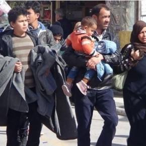 Στην Ελευσίνα έφθασαν οι 1169 πρόσφυγες που βρίσκονταν στηΧίο