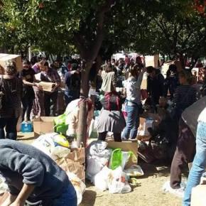 Προσφορά αγάπης και αλληλεγγύης στουςπρόσφυγες