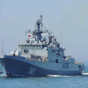 Μεγάλα ναυτικά γυμνάσια του ρωσικού στόλου της Κασπίας.Απέπλευσε νωρίς το πρωί για ασκήσεις με πραγματικάπυρά!!!