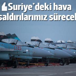 EKTAKTO! Οι Ρωσικοί Βομβαρδισμοί κατά των ισλαμιστών στην Συρία θα ΣυνεχιστούνΚανονικά