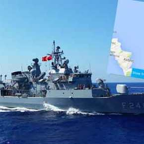 Στον…Καφηρέα περιπολούν τα πλοία του ΝΑΤΟ στους Καλόγηρους ηBarbaros!!!