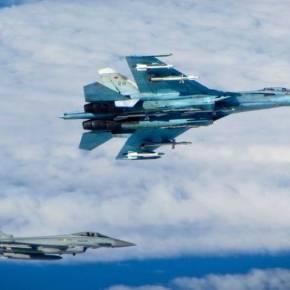Αερομαχία ρωσικών Su-27SM και Eurofighter γύρω από το αεροσκάφος του Ρώσου ΥΠΑΜ Σ.Σοϊγκού στην Βαλτική(vid)