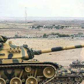 Οι Τούρκοι συνεχίζουν να αναπτύσσουν Άρματα στα Σύνορα με τηΣυρία