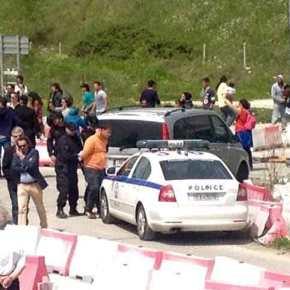 Απειλήθηκε η ζωή πέντε (5) Οπλιτών στον Καταυλισμό του Κατσικά …Για μαζέψτε τους!(video)