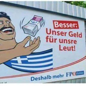 ΜΕ ΑΥΤΗΝ την αφίσα ήρθε πρώτη η ακροδεξιά στηνΑυστρία!