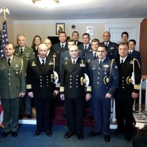 Επίσημη Επίσκεψη Αρχηγού ΓΕΝ στις Ηνωμένες Πολιτείες Αμερικής-Φωτογραφίες.