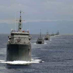 Οι Τούρκοι κάνουν πρόβα απόβασης σε ελληνικά νησιά και προκαλούν ξανά στις Οινούσσες(φωτό-ηχητικό)