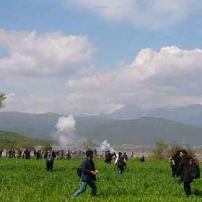 ΠΓΔΜ: Αναγκαστήκαμε να χρησιμοποιήσουμε δακρυγόνα κατά τωνπροσφύγων
