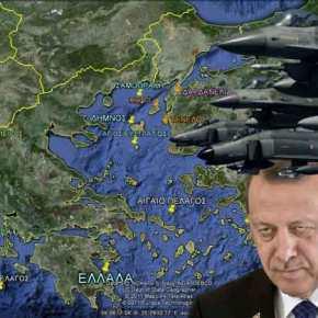 Οινούσσες: Γιατί δεν εγκλωβίζονται τα τουρκικά μαχητικά από τηναεράμυνα;